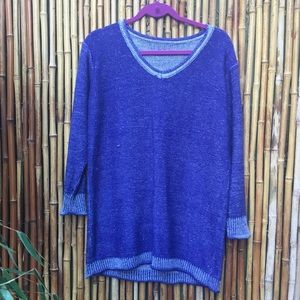 Sweaters - Cozy & Soft Purple V-Neck Sweater